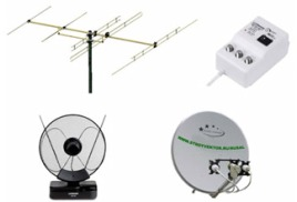 Системы спутникого и эфирного телевидения